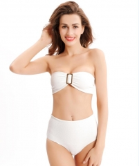 Hardware tube stretch bikini
