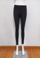 Women yoga wear pants with mesh
