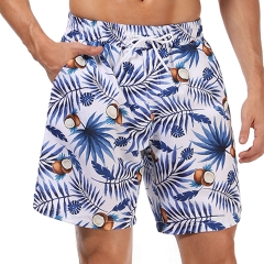 Coconut print men swim short